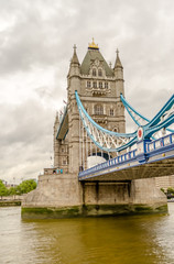 Fototapeta na wymiar Tower Bridge, Historical Landmark in London