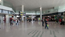 Malaga Spain Airport Inside Te...