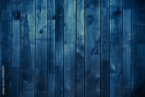 Dark Blue Wood Background