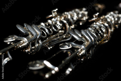 Photographie Fragment of the clarinet in dark colors