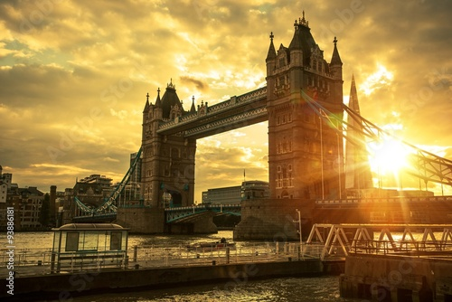 London Tower Bridge Canvas Print