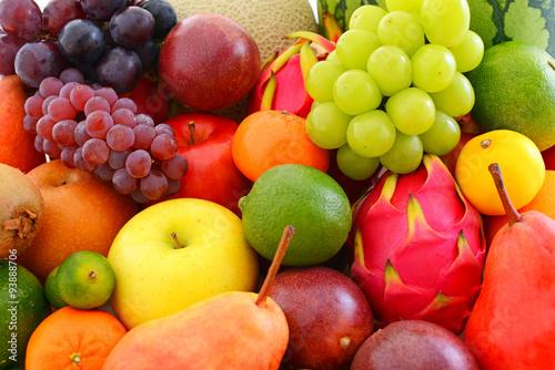 Foto op Aluminium Vruchten 新鮮な果物