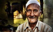 Happy Indian Man Smiling For T...