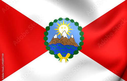 Fotografie, Obraz  First Republican Flag of Peru (1821)