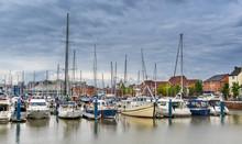 Hull Marina In Yorkshire Engalnd