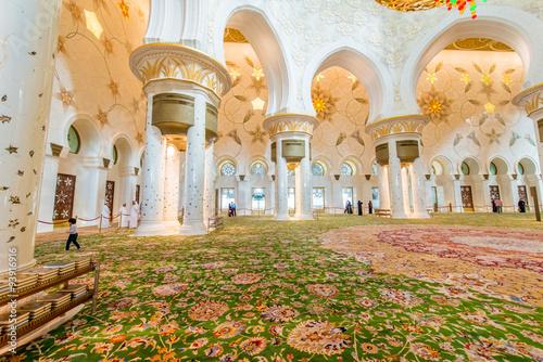 abu-dabi-9-stycznia-2015-sheikh-zayed-meczet-9-stycznia-w