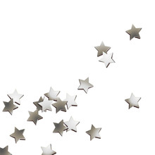 Silberne Deko Sterne