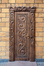Old Beautiful Carved Wooden Doors