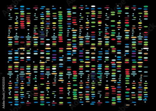 Fotografie, Tablou  DNA Results