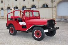 Red Jeep Fireman - Beautiful ...