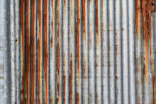 Rusty Corrugated Iron Metal Te...