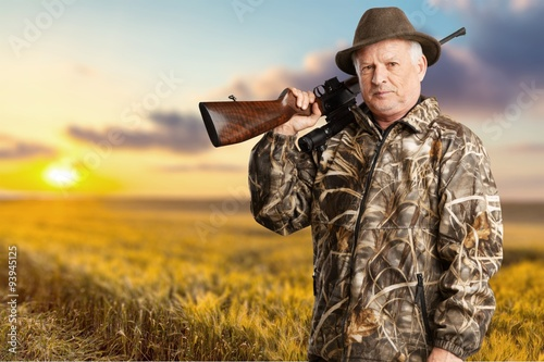 Hunter. Fototapeta