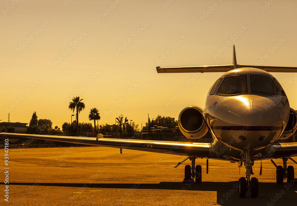Fototapety, obrazy: Golden Plane