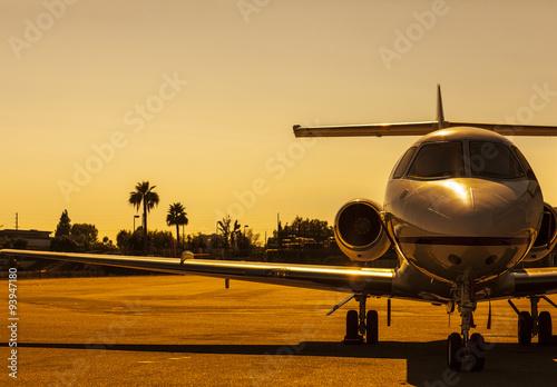 fototapeta na drzwi i meble Golden Plane