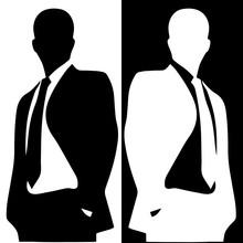 Businessman Illustration Incognito
