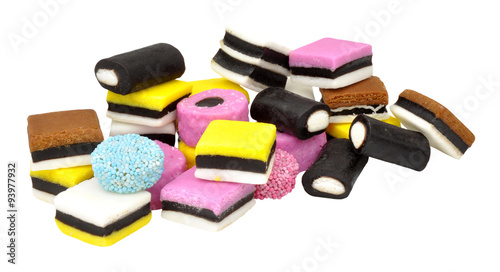 Recess Fitting Candy Liquorice Allsorts Candy