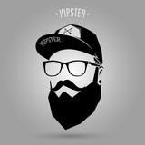 Fototapeta Sport - hipster men cap