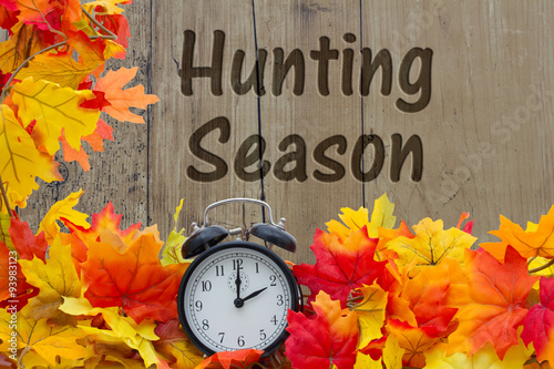 Poster Jacht Time for Hunting Season