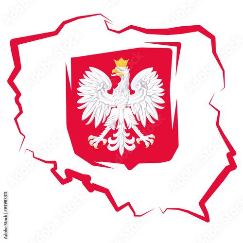 mapa-polski-z-godlem