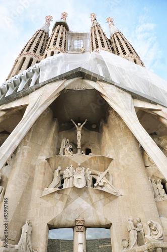 Poster Monument Sagrada Familia