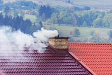 Smoking Chimneys On New Roof