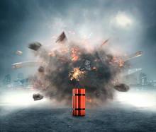 Dynamite Exploding