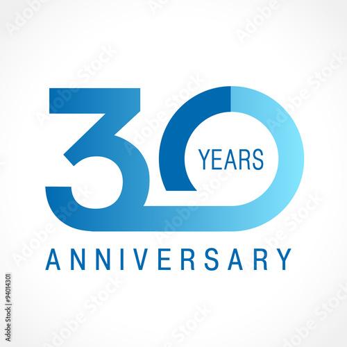 Fotografía 30 anniversary classic logo