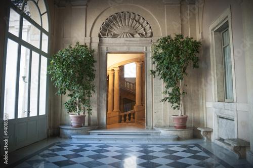 Obraz na plátně  Roma, Porta del Quirinale