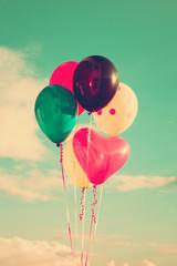 Fototapeta Romantyczny balloons at sky