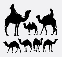 Camel Animal Silhouettes. Good...