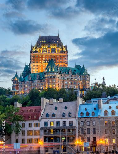 Fototapeta premium Zamek Frontenac, Quebec