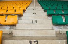 Stadium Seats And Stairs