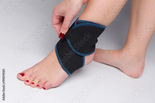 Fotografía  Fuss mit Bandage