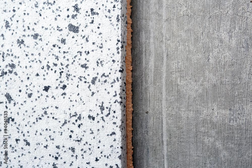 Photo & Art Print Polyurethane insulation foam between