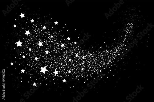 Obraz Glittering star dust circle - fototapety do salonu