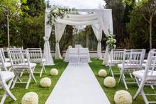 Wedding Path And Decorations F...