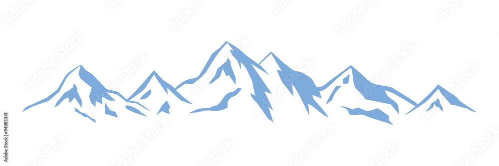Fototapety, obrazy: Wintersport - Berge - 12