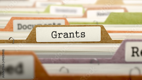 Grants - Folder Name in Directory. Canvas Print