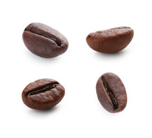 Collage Of Roasted Coffee Bean...