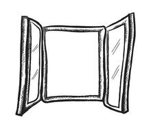Doodle Open Window