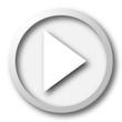 Leinwanddruck Bild - Play sign icon