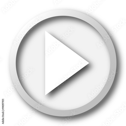 Fotografie, Obraz  Play sign icon