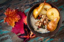 Healthy Autumn, Fall Breakfast...