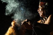 Mayan Jungle People Amazon Sha...