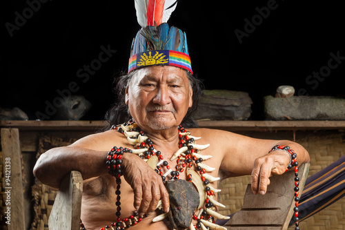 mata magnetyczna Amazonian Shaman Portrait