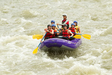 Rafting Senior Holidays South Team Family Sport America Whitewater Rafting Boat Gathering Of Seven Human Rafting Senior Holidays South Team Family Sport America Raft Happy Tourist Water White Vacatio