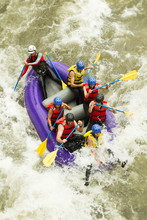 Rafting White Water Guide Whitewater Rafting Boat Group Of 7 Human Rafting White Water Guide Raft Laughing Race Visitor Team Vacation Flow Rapid Danger Summertime Expedition Challenge Practice Teamwo