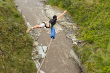 Bungee Jump Bridge From Bungee...