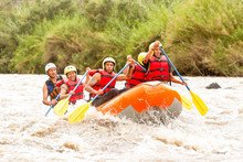 Whitewater River Rafting Boat Adventure