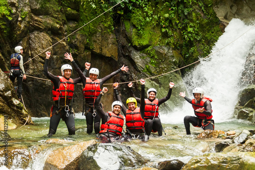 Authentic Canyoning Trip Wallpaper Mural